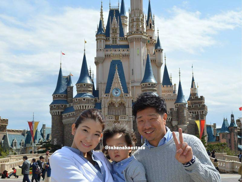 竹中福太郎の家族です。