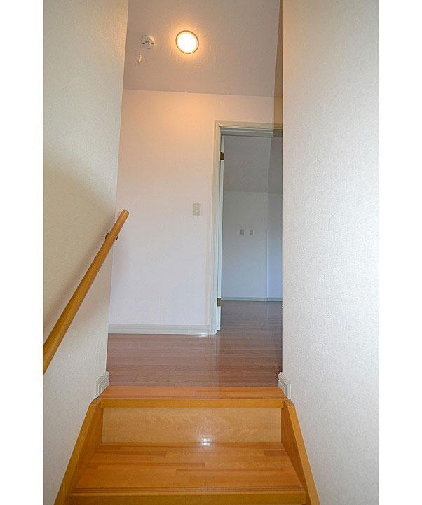 お部屋は2階です!(^^)!