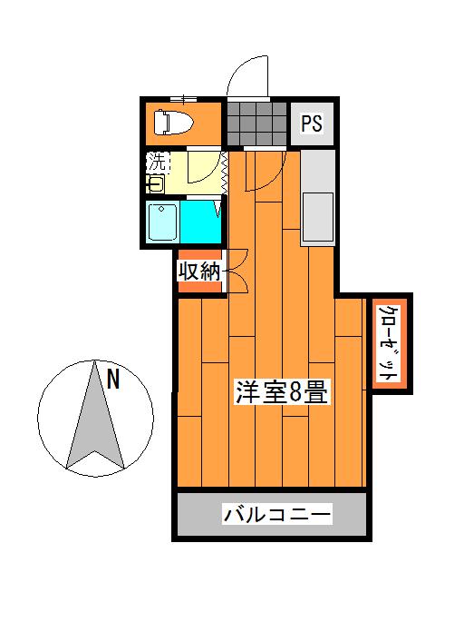 宿毛市賃貸-アパート-間取り図