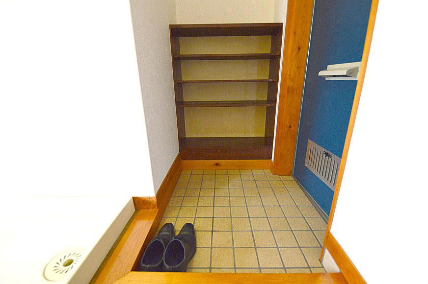 玄関と下駄箱