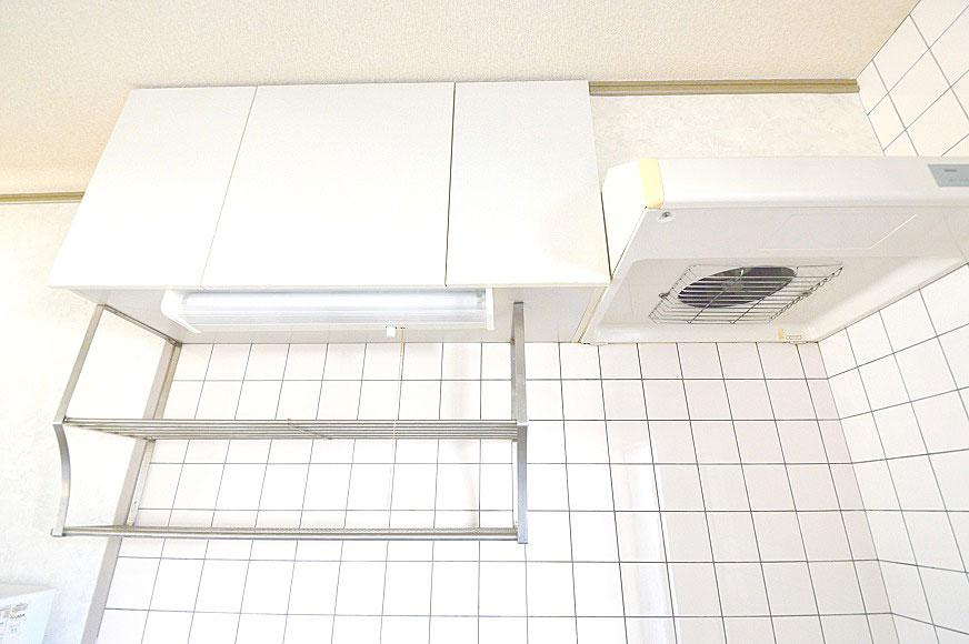 宿毛市賃貸マンション-キッチン上段スペース