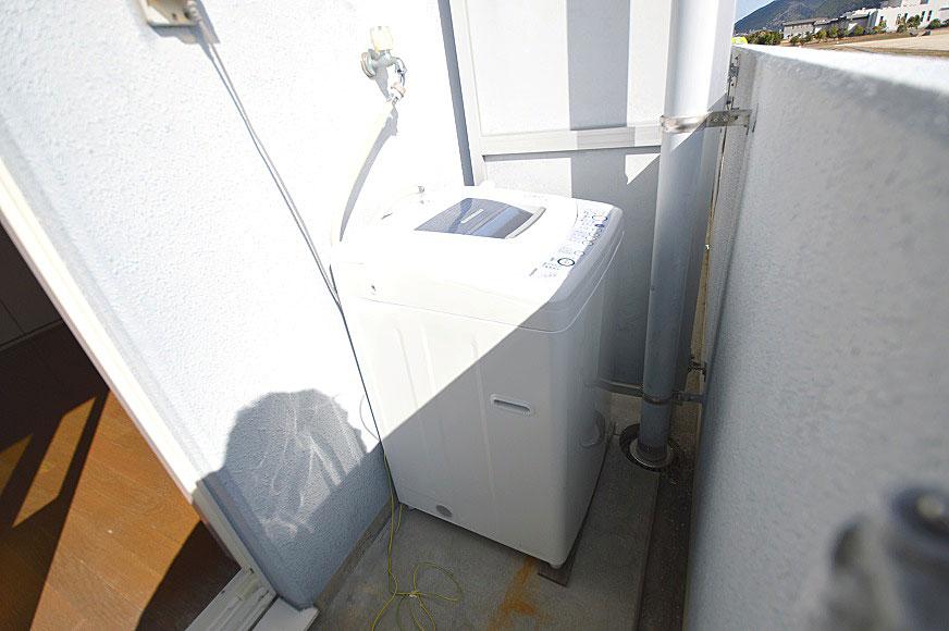 宿毛市賃貸マンション-洗濯機