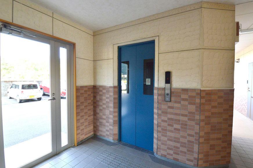 宿毛市賃貸マンション-エレベーター