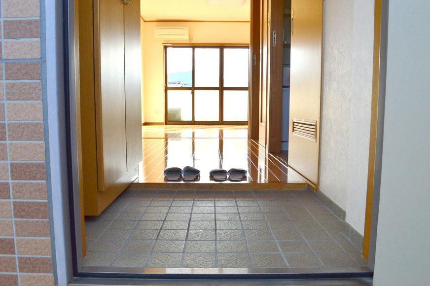 宿毛市賃貸マンション-玄関