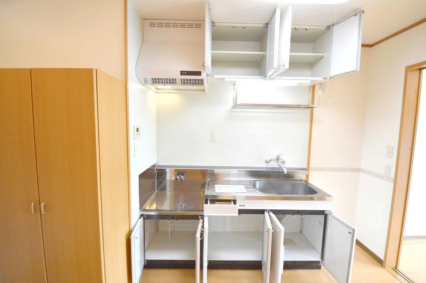宿毛市賃貸マンション-キッチン収納