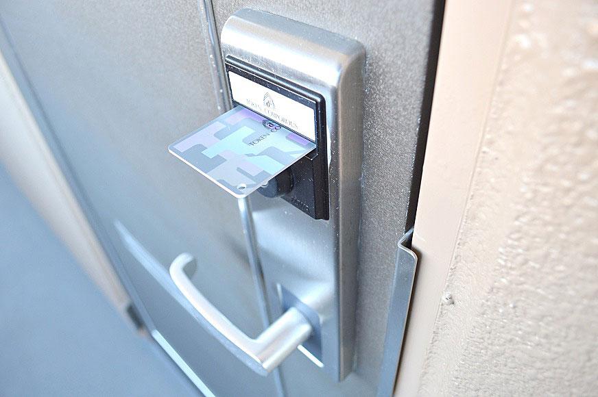 宿毛市賃貸マンション-カードキー