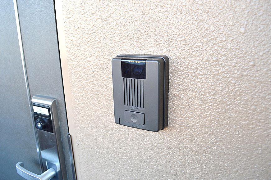 宿毛市賃貸マンション-モニター付きインターフォン