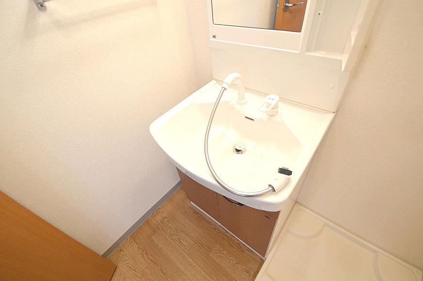 宿毛市賃貸マンション-シャワー付き洗面台