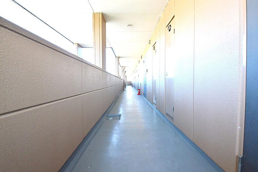 宿毛市賃貸マンション-共用廊下