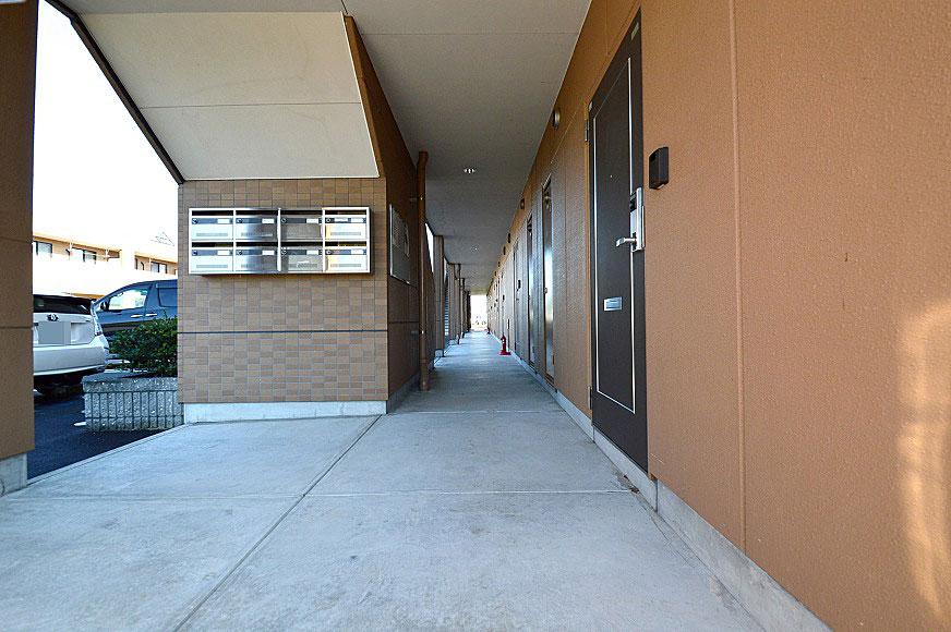 宿毛市賃貸マンション-一階共用廊下