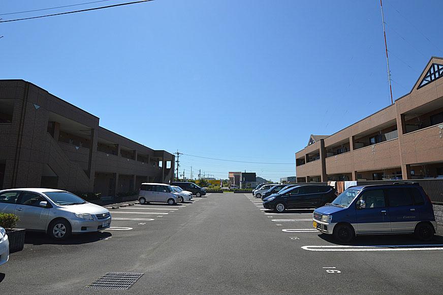 宿毛市賃貸マンション-駐車場