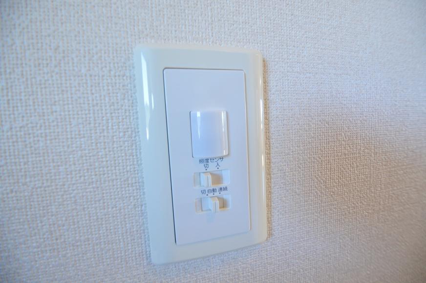 各部屋人感センサー対応。