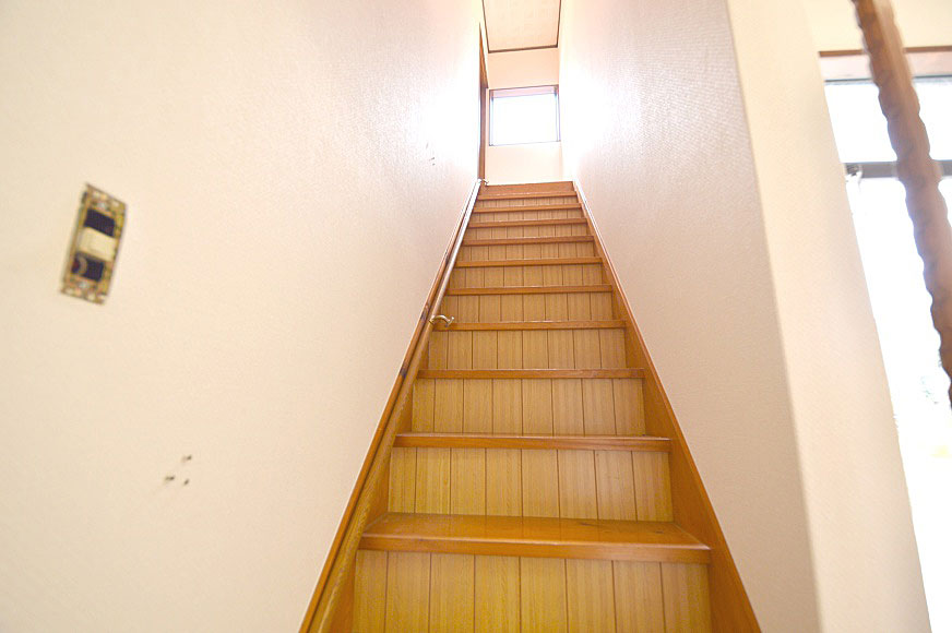 2階へどうぞ!