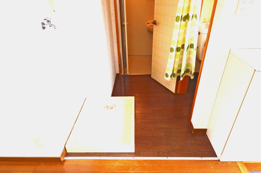 お風呂とトイレ、洗濯機置場
