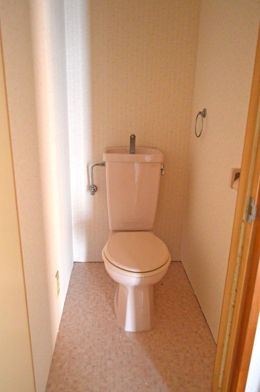 宿毛市の賃貸アパート 仲上ハイツのトイレ