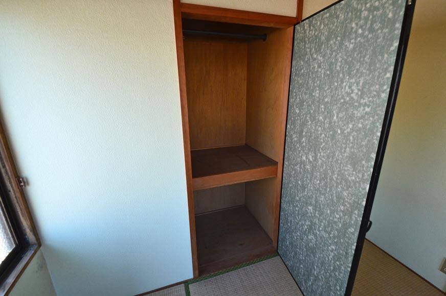 宿毛市の賃貸マンション-和室収納