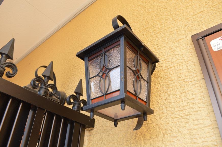 玄関の外灯