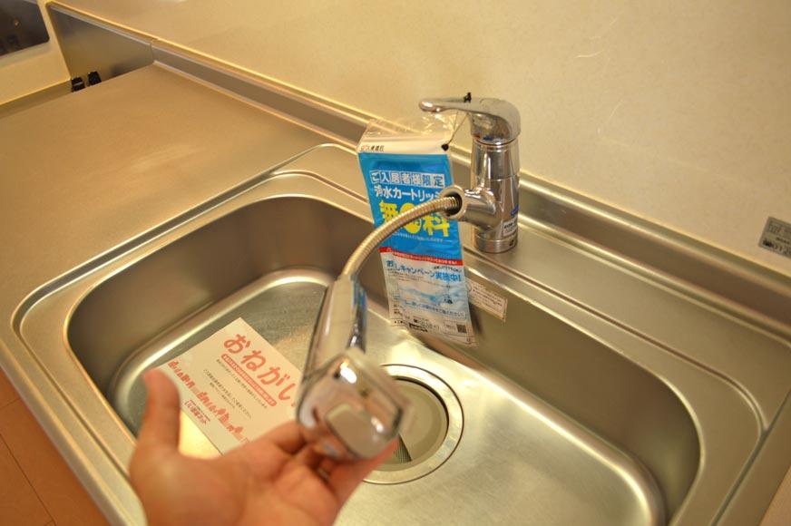 浄水器付きシャワーホース