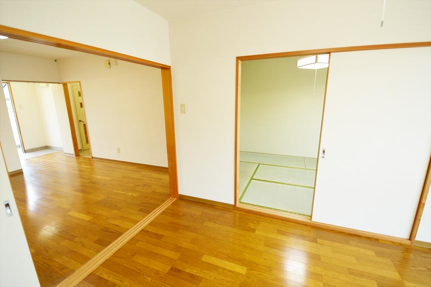 LDKと洋室と和室
